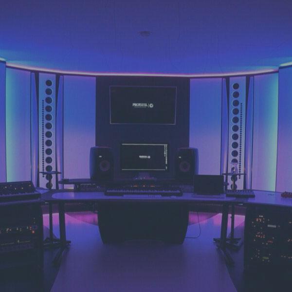 mixing room TV